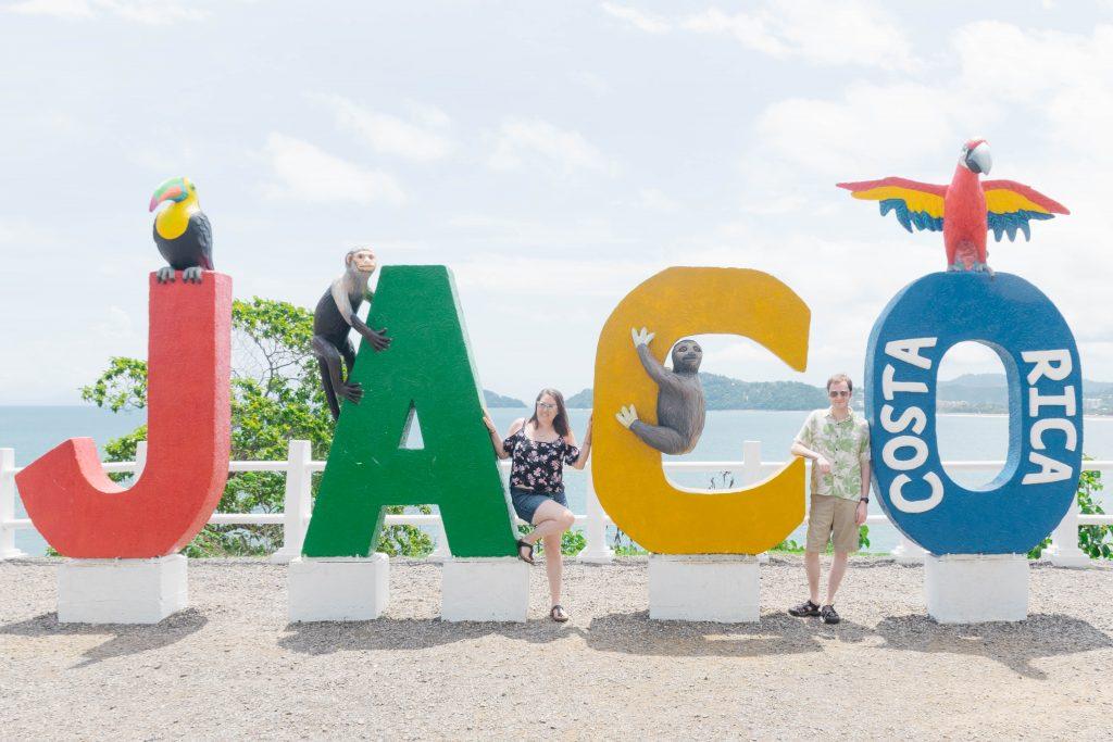 Jaco beach town