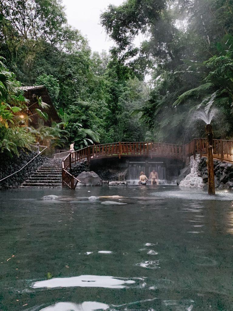 EcoTermales hot springs in la Fortuna