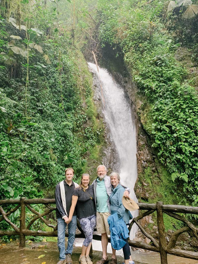 Mistico hanging bridges waterfall la Fortuna